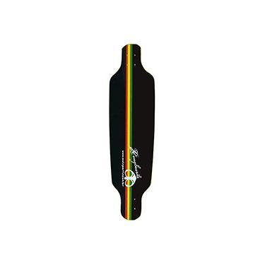 Imagem de Shape para Skate Speed Reggae Owl Sports - Preto