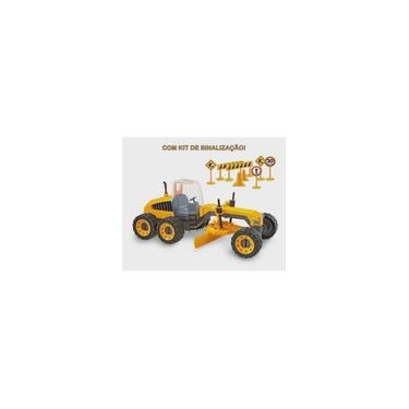 Imagem de Caminhão Plataforma Construction Machines c/ Trator