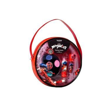 Imagem de Kit De Maquiagem Infantil Miraculous Ladybug - Bolsinha