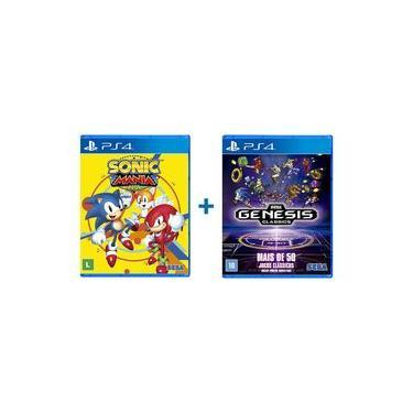 Sonic Mania Plus + Sega Genesis Classics - PS4