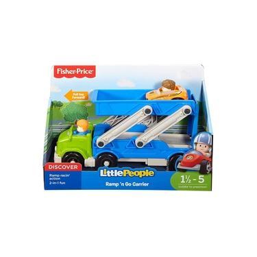 Imagem de Caminhao Fisher Price Little People Transportador Mattel