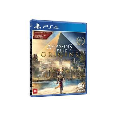 Jogo Mídia Física Assassins Creed Origins Para Ps4