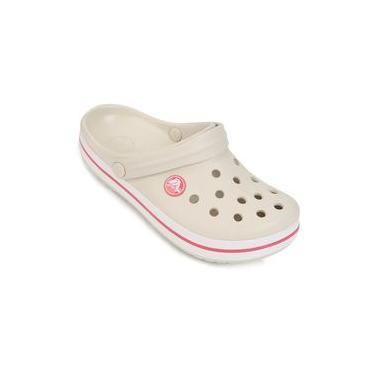 Sandália Crocs 204537 Infantil Crocband Palha