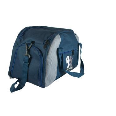 Bolsa para academia com porta toalha e tênis