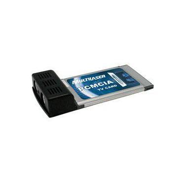 Placa  PCMCIA Sintonizadora de TV - Multilaser
