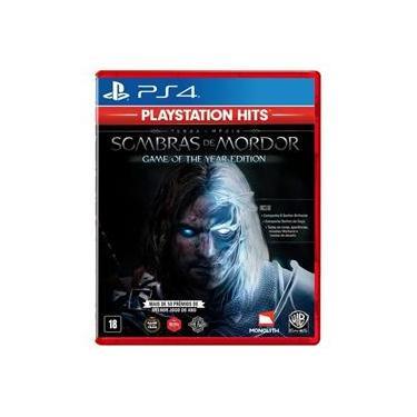Jogo Terra-média: Sombras de Mordor GOTY - Playstation Hits - PS4