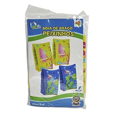 Boia Inflável Braço Peixinhos Infantil Criança Piscina Praia - Dms5433 Dm Brasil