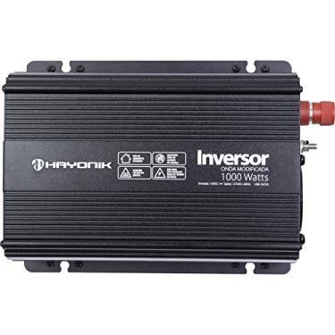 Inversor e Conversor de Tensão Onda Modificada Hayonik 12V para 127V 1000W Com Saída USB