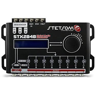Processador de Audio Digital Stetsom Stx2848-8 Vias - Crossover Dinâmico e Equalizador 15 Bandas