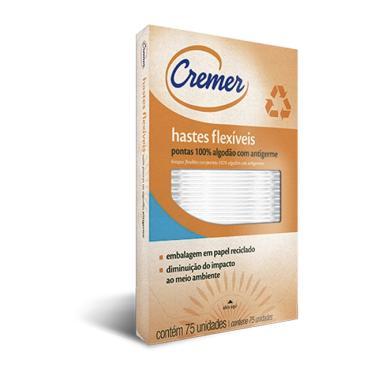 HASTES FLEXIVEIS CREMER 75 UNIDADES