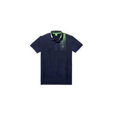a8c403df71 Camisa Polo Golf Selection Masculina Marinho De Hugo Boss
