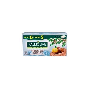 Sabonete Palmolive Naturals Hidratação Intensiva Karité Leve 6 Pague 5 Unidades 85 G Cada