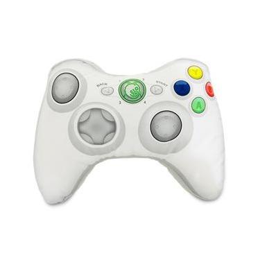 Almofada Controle De Video Game Inspirada No Xbox360 Branco