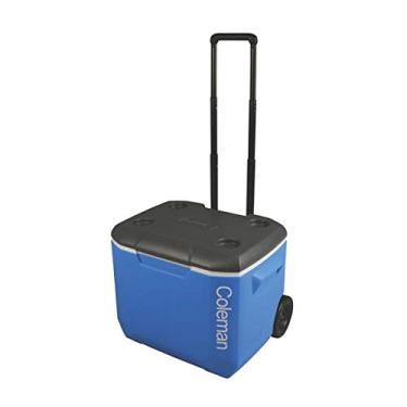 Imagem de Caixa Térmica com rodas 60QT (56,7L), Coleman, Azul