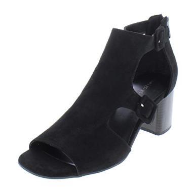 Índigo Rd. Sandálias femininas Mandie de dedo aberto casuais com tira no tornozelo
