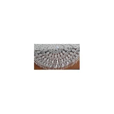 Imagem de Toalha De Mesa Em Crochê Cru Artesanal Feito A Mão