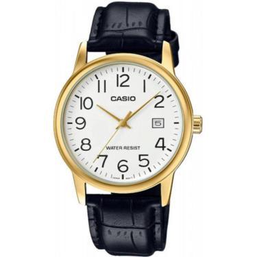c1ac9b6b581 Lux Golden Comprar · Relógio Masculino Casio Analógico MTP-V002GL-7B2UDF -  Dourado