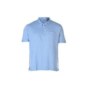 799182e0e Camisa Polo Piquet Masculina City Gear - Azul