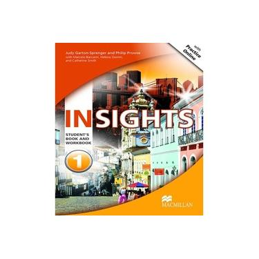 PROMO-INSIGHTS STUDENT's BOOK WITH WORKBOOK & MPO-1 - Judy Garton-sprenger; - 9786685727609