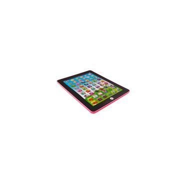 Imagem de Tablet Didático Interativo Brinquedo Infantil Bilingue - rosa