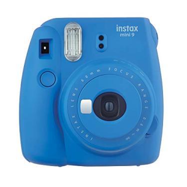 12518f4100fc2 Câmera Instantânea Instax Mini 9, Fujifilm, 705061152, Azul Cobalto