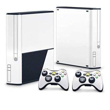 Skin Adesivo para Xbox 360 Super Slim - Branco