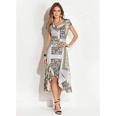 Vestido Feminino Medio Quintess Mullet Alta Qualidade