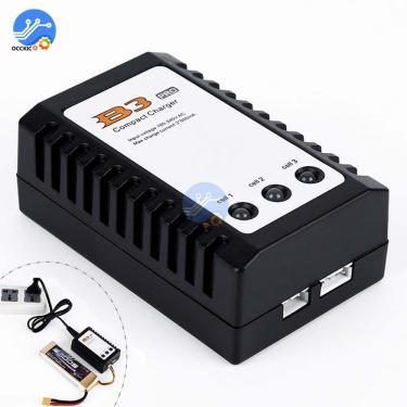 Ue/eua plug balanceado carregador de bateria para imaxrc imax b3 pro compacto 2s 3s lipo fonte