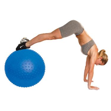 06df77742d Bola De Ginástica Massagem 65 cm Azul T9-Massage - Acte Sports