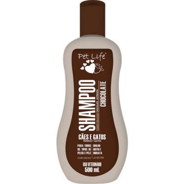 Shampoo Condicionador Pet Life Chocolate para Cães e Gatos - 500 mL