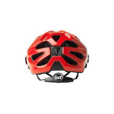 Capacete Bike Kali Chakra Logo Vermelho