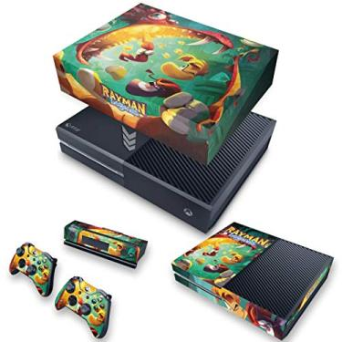 Capa Anti Poeira e Skin para Xbox One Fat - Rayman Legends