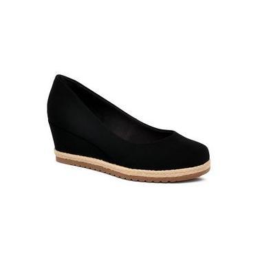 Sapato Anabela Bebecê 5814-558 Preto/preto