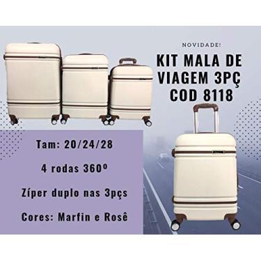 Imagem de Conjunto de Malas World para viagem - 3 Peças - Premium