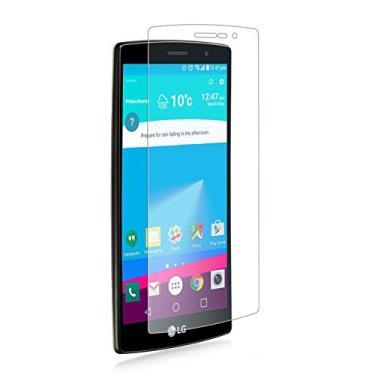 [2 pacotes] Protetor de tela para LG G4 Beat, protetor de tela de vidro temperado transparente resistente a arranhões para LG G4 Beat, LG G4s, LG H735 [não serve para LG G4c de 5,0 polegadas]