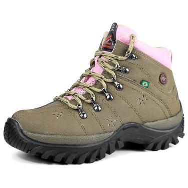 Bota Coturno Adventure Feminina Sw Shoes Lançamento Oliva  feminino