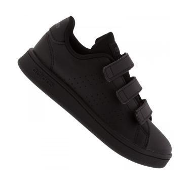 Tênis Adidas Advantage C Infantil  - Preto  unissex