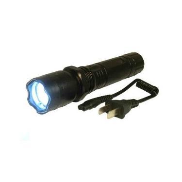 Lanterna Choque Tática Taser Defesa Pessoal 10000kv Recarregave