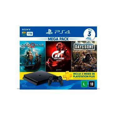 Console PlayStation® 4 Hits V12 & 1 Controle DualShock®4 & Jogos