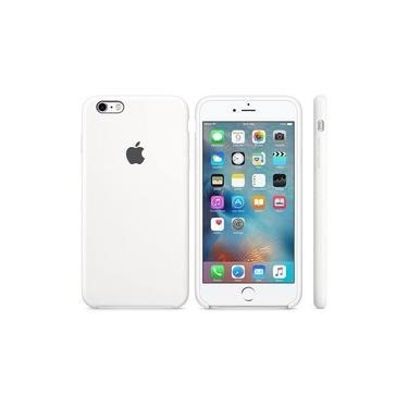"""Capa Case Silicone Iphone 6 Iphone 6s 4.7"""" - Branca"""