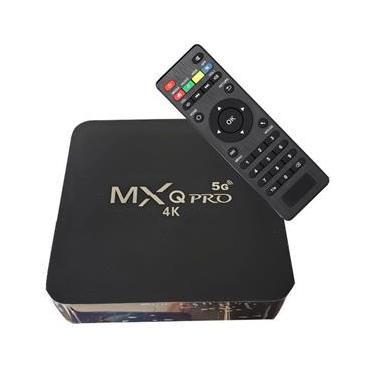 Smart Tv Box 4k Ultra Hd Wi-fi Android Hdmi - MXQ PRO