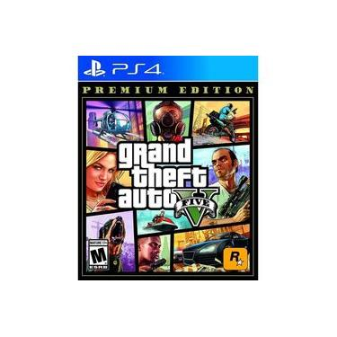 Jogo Grand Theft Auto V Premium Edition - GTA 5 - PS4