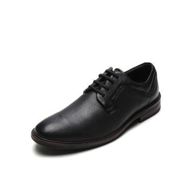 Sapato Couro Ferracini Social Preto Ferracini 4446-574G masculino