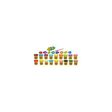 Imagem de Conjunto Massa de Modelar Play-Doh Super Color Kit com 18 Cores de Massinha A4897 - Hasbro