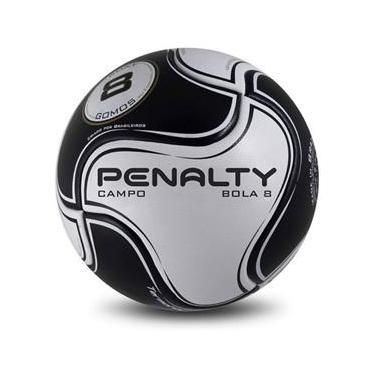 Bola Campo Penalty 8 S11 R2 VI - Preto Branco f514bc01c76b2