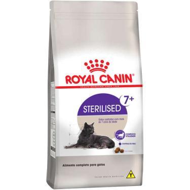 Ração Royal Canin Feline Health Nutrition Sterilised para Gatos Adultos Castrados Acima de 7 anos - 1,5 Kg