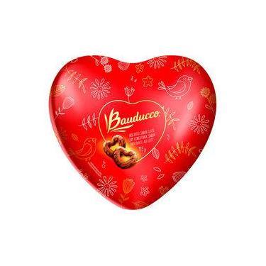 Lata Biscoito Leite Cobertura Chocolate 115g - Bauducco