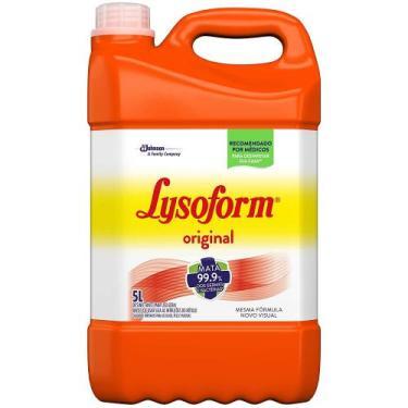 Lysoform Original Desinfetante Bactericida para Uso Geral 5L - Johnson