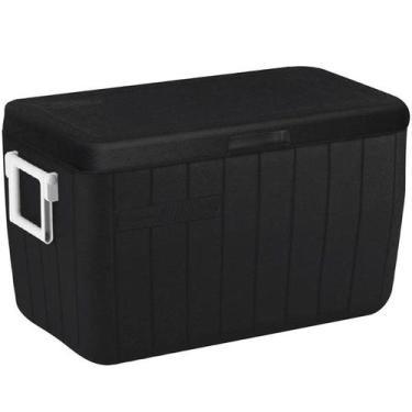 Caixa Térmica Coleman 48 QT 45,4 Litros All Black