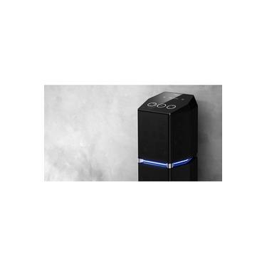Mini System Torre Panasonic UA7 1400w Rms Bluetooth + Nfc Entrada USB Função Karaokê Aplicativo MAX Juke